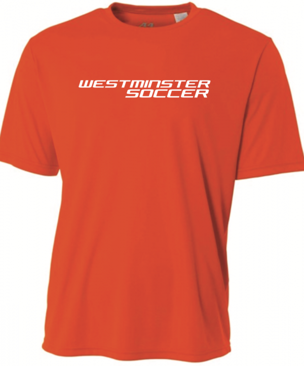 Westminster Soccer A4 SS Tee – Orange – XL INDIVIDUALS