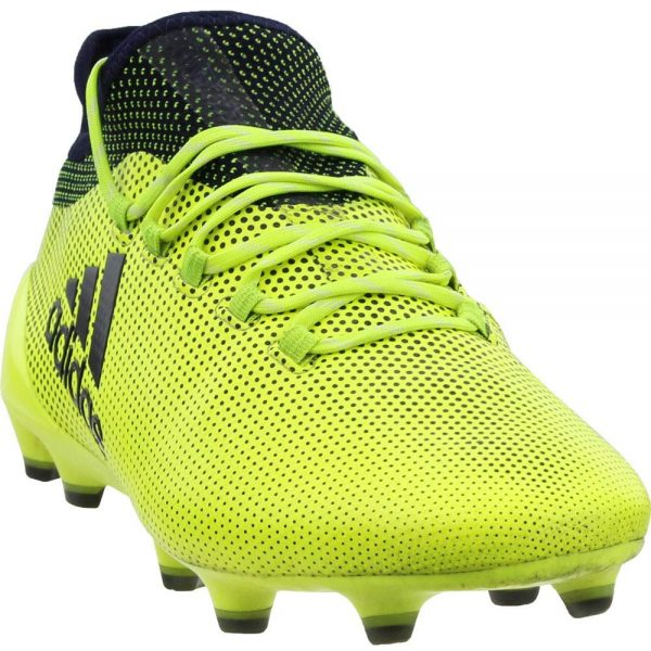 adidas Copa X 17.1 FG Mens Soccer Shoe – Solar Yellow – 9.5 Soccer Outdoor Shoes