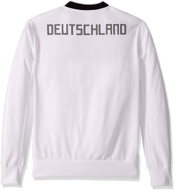 adidas Germany Soccer Track Top – White – L Soccer Replica Jerseys