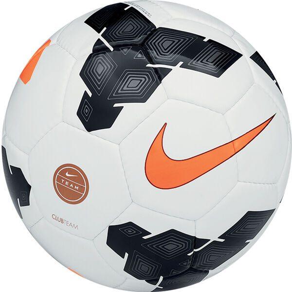 Nike Club Team Soccer Ball – White-Black – 4 Soccer Balls