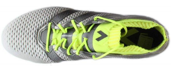 adidas Ace 16.1 Primeknit FG Mens Soccer Shoe – Silver – 9 Soccer Outdoor Shoes