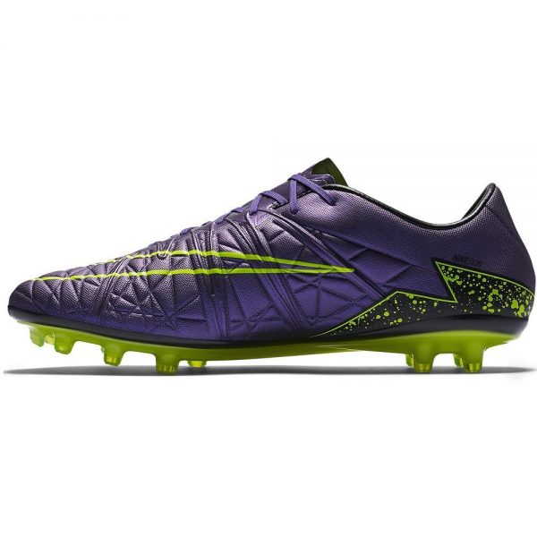 Nike Hyervenom Phinish FG Soccer Shoe – Purple – 8.5 Soccer Outdoor Shoes