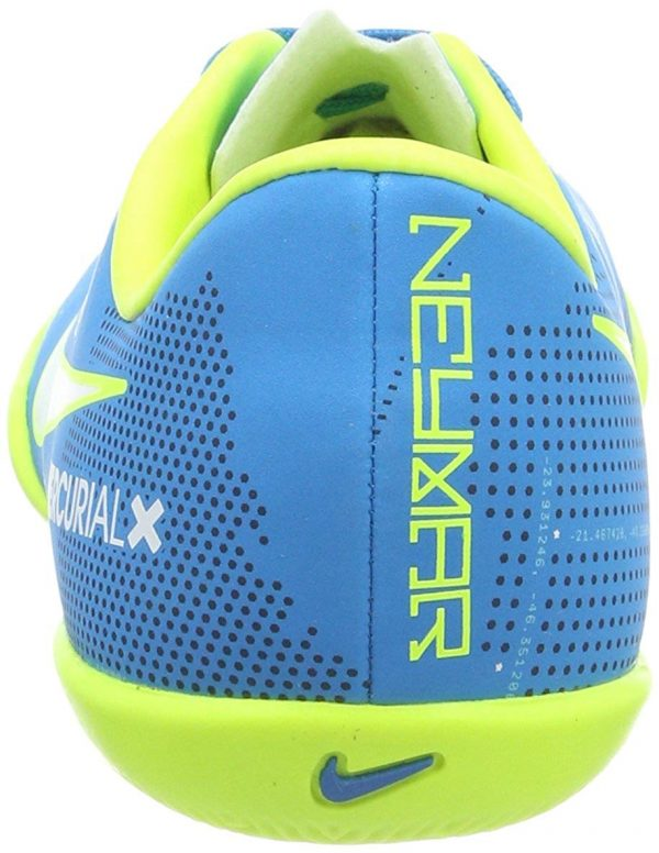 Nike Mercurial X Victory 6 Neymar Indoor Junior – Blue – 3.5 Soccer Indoor Shoes